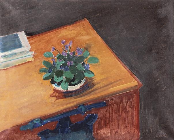 Turo Pedretti (1896 - 1964, Швейцария) Художник считается значительным представителем фовизма и экспрессионистической живописи