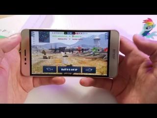 ASUS Zenfone Pegasus 3 Тест Игр