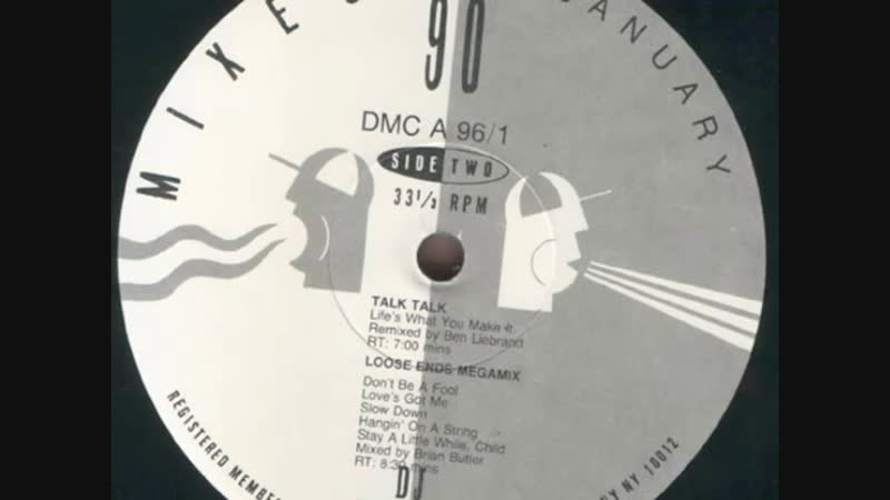 Talk Talk - Lifes What You Make It (12 Inch. Extended The Ben Liebrand Remix Version And Remix) By DMC Records Inc. Ltd.