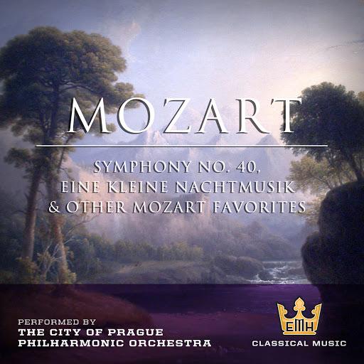 The City Of Prague Philharmonic Orchestra альбом Mozart : Symphony No. 40, Eine Keine Nachtmusick & Other Mozart Favorites
