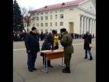Присяга 25.11.2017 в/ч 3419 2 уч.рота