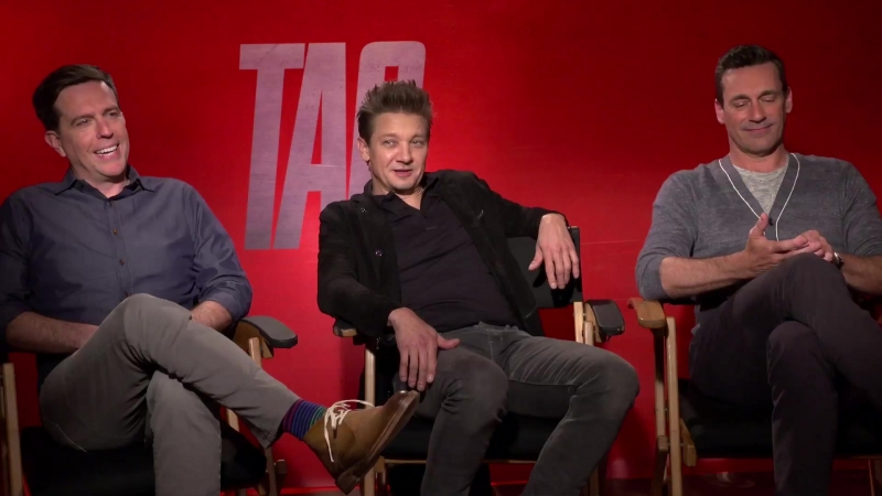 """Showbiz Tonight- Jeremy Renner on adulting, filming in the Philippines, and """"Tag"""""""