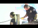 Redondo Beach Pier - Woman Driver Hits Pilings - Arrested for DUI