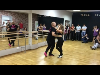 Саша и Саша. Bachata sensual workshop, , Казань.