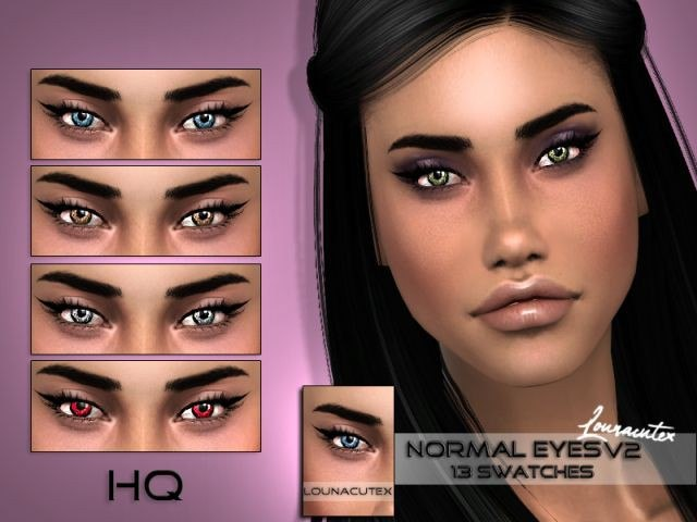 Normal Eyes V2 by l0unacutex