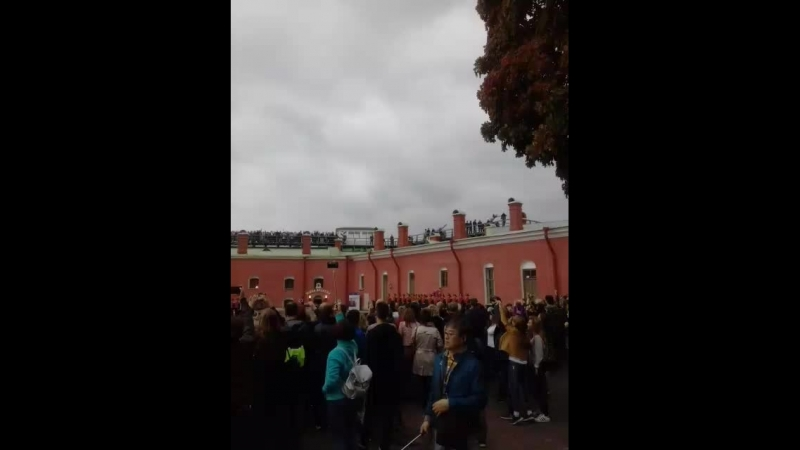 Развод караула Петропавловской крепости
