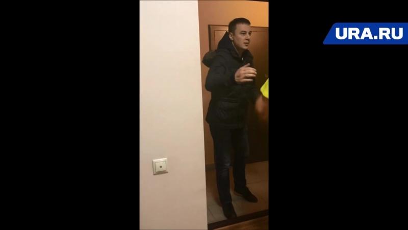 Топ-менеджер ГАЗПРОМа наорал матом на чужого 7-месячного младенца