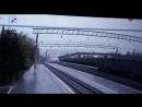 Мост обрушился на железнодорожные пути Транссибирской магистрали в городе Свободном Амурской области 09.10.2018