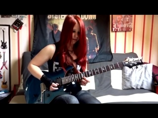 METALLICA Master Of Puppets GUITAR COVER with SOLO by Jassy