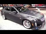 2018 Cadillac CTS V Sedan - Exterior and Interior Walkaround - 2018 Chicago Auto Show