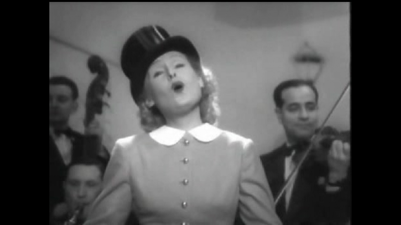 Lilian Harvey Entertains In Her Last Film