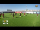Suarez nutmeg Piqué 😂 Training session