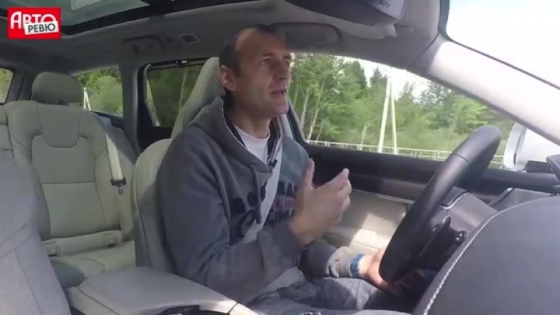 Volvo V90 Cross Country и Mercedes All-Terrain- внедорожная дуэль и наезд на пешехода!