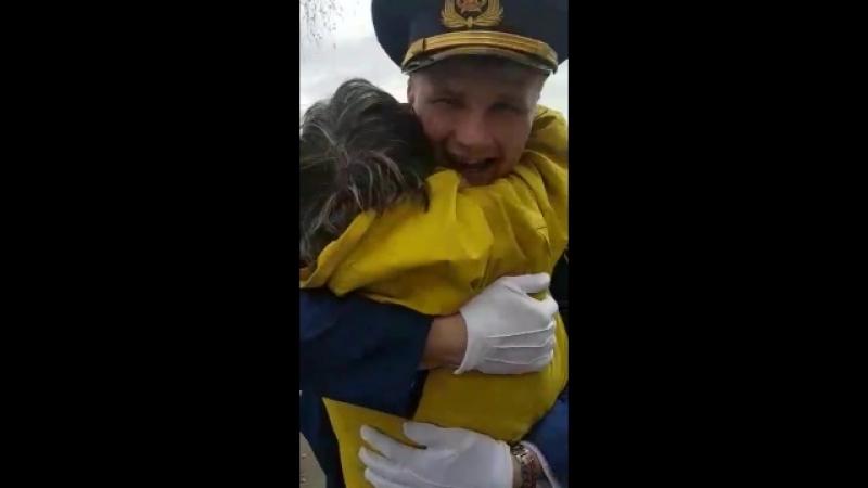 Встреча нашего защитника с армии! Мой Сыночек! Моя гордость дома! УРА🙏🌷🌹👍💋