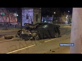 Смертельное ДТП в Барнауле