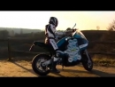 Самодельный электрический мотоцикл - вокруг света за 80 дней!