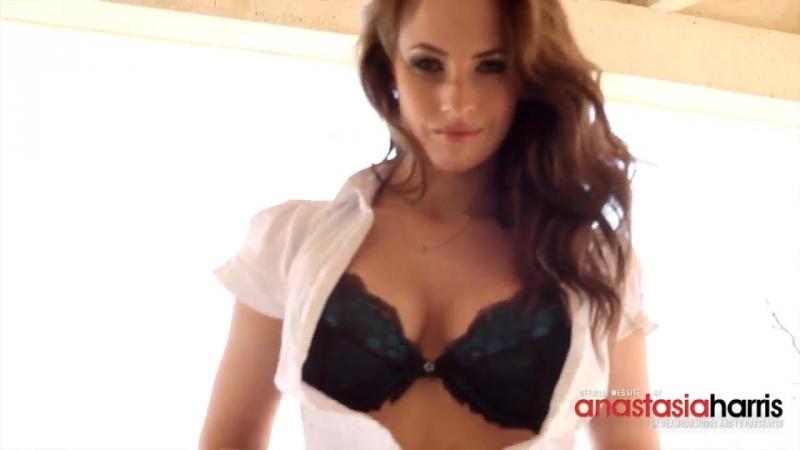 All natural tits - Anastasia Harris striptease 62
