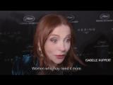 WomenInMotion Awards highlights video! Isabelle Huppert
