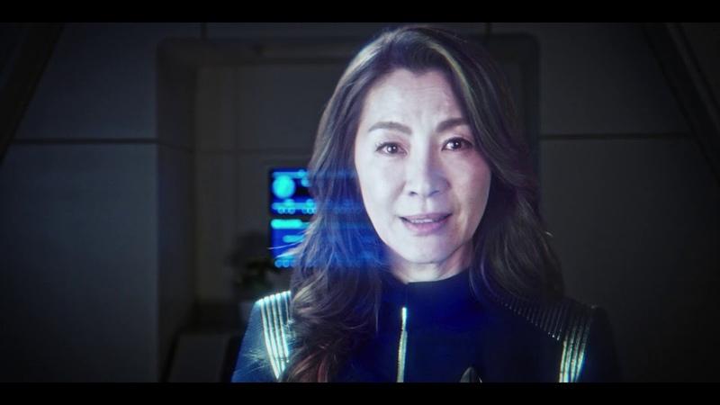 """Star Trek Discovery Season One"""" Special Features Clip Capt Georgiou"""