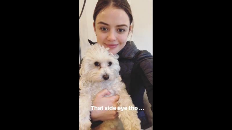 Lucy Hale's Instagram Stories 19 02 18