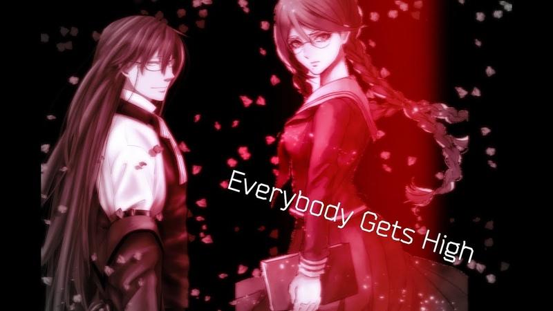 Токо и Грелль AMV- Everybody Gets High