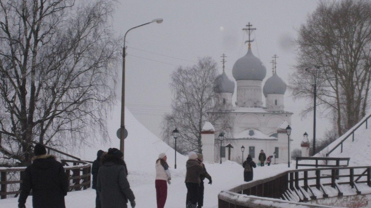 По Вологодской области. Белозерск - самый древний русский город