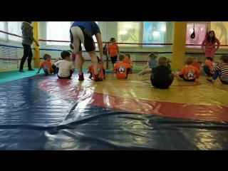 Тренировка у малышей 3-5 лет