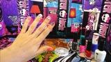 ДЕЛАЕМ МАНИКЮР В СТИЛЕ МОНСТЕР ХАЙ We make manicure in the style of Monster High