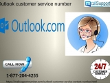 Toll-free Outlook customer service number is out there spherical clock for productive facilitate 1-877-204-4255