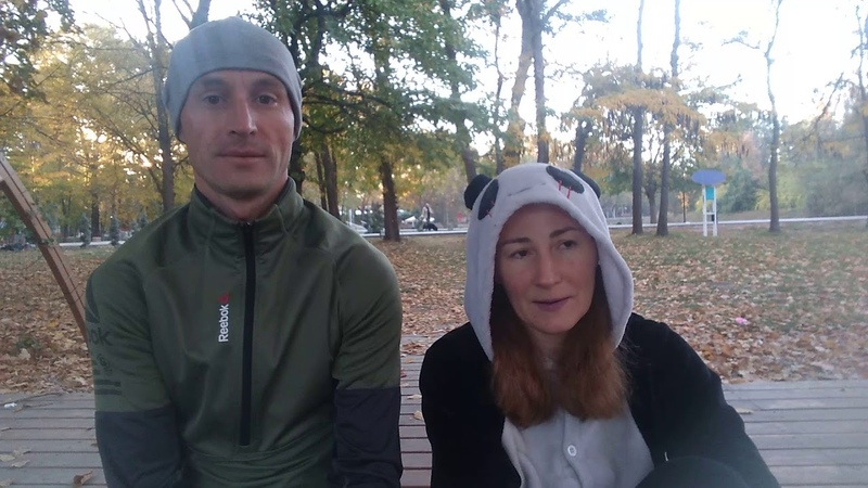Йога в парке им Гагарина 17 10 2018