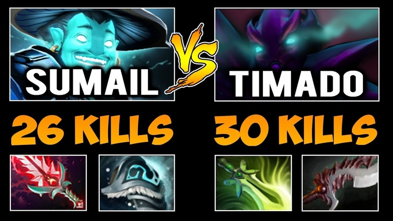 SUMAIL Storm Spirit vs TIMADO Spectre - Nonstop War Crazy Battle