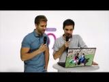 Pablo Alborán con Jordi Cruz en CADENA 100