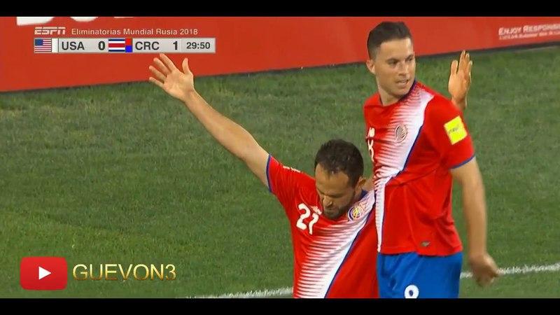 Eliminatoria Rusia 2018 | USA [0] vs Costa Rica [2] | ESPN Latino | Septiembre 1, 2017 | 720p HD