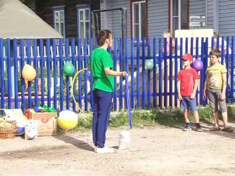 ДК организовал праздник для детей, живущих за рекой Костромой