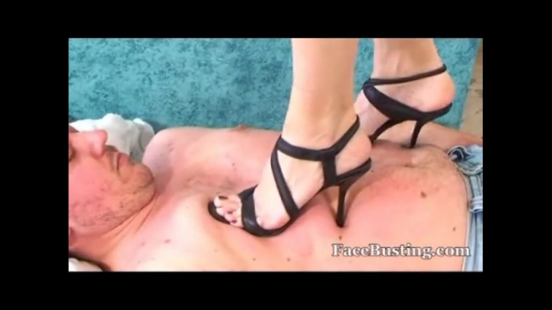 High heels trampling mix