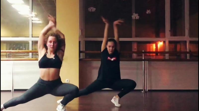 тренировки по jazz funk by Nastya Balioz Forward dance studio