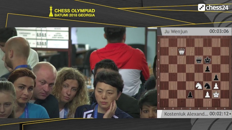 DAY 11, 5 Oct. THE 43RD WORLD CHESS OLYMPIAD 2018 BATUMI (ENG)