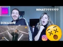 BEST MALE VOICE EVER DIMASH - ALL BY MYSELF ITALIAN REACTION ! [THE BABES]