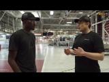 Тур по Фабрике Тесла с Илоном Маском (MKBHD Ru)