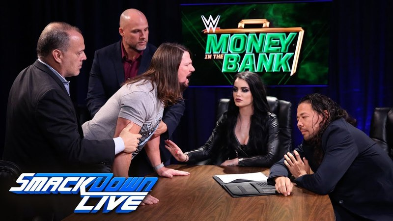 Styles Nakamura trade barbs during explosive contract signing: SmackDown LIVE, June 5, 2018