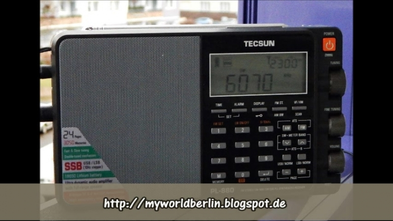 Radio Romania International in Italian at June 3rd, 2016 at 2 pm (UTC) on 9520 kHz