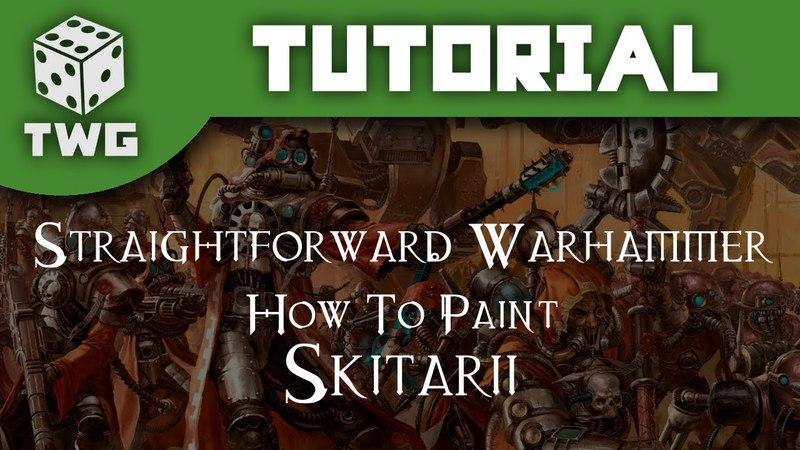 Straightforward Warhammer: How To Paint Skitarii