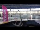 Огромный батут 3x5 метров на «Лыжне России - 2018»