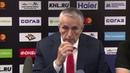 Экспресс-комментарий и пресс-конференция после матча Металлург - Авангард