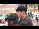 2018.09.23 Kim Hyun Joong at Gimpo Airport Heading to Japan - cr