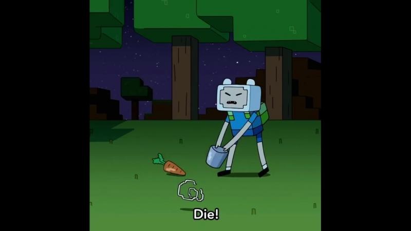 Трейлер серии Времени приключений в стиле Minecraft.