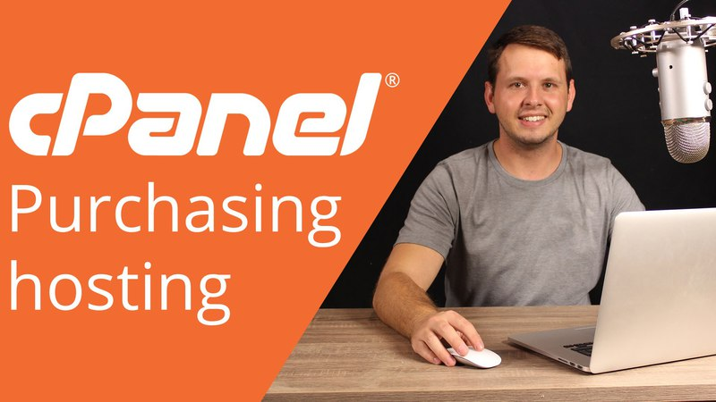 CPanel beginner tutorial 1 How to purchase hosting