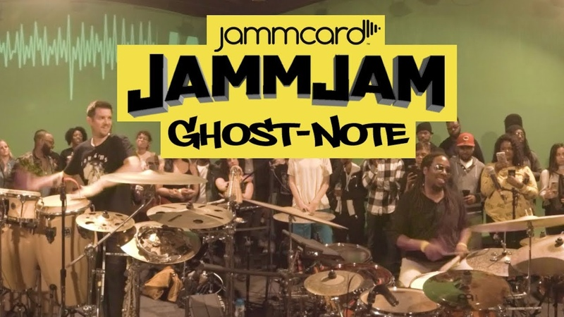 Ghost-Note LIVE at the JammJam in 360. Milkshake written by MonoNeon