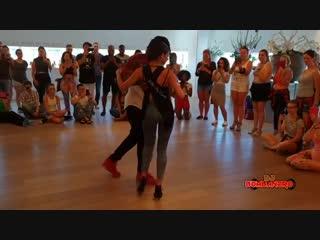 Jojo and Tressie. I Love Kizomba Sensual, Eindhoven 2018