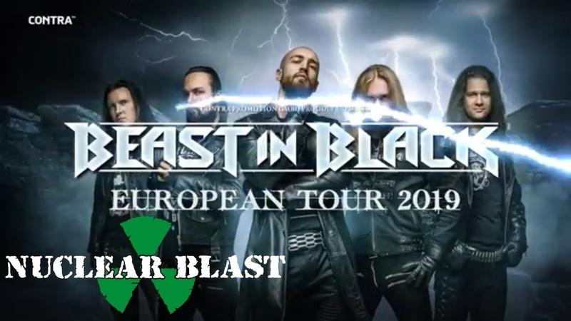 BEAST IN BLACK - European Headline Tour 2019 (OFFICIAL TRAILER)